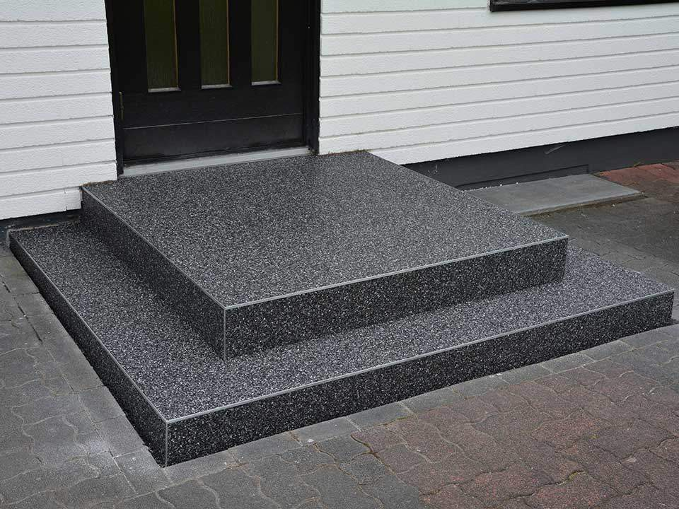 Treppe Sanieren Mit Steinteppich Treppenbelag Von Fachfirma Abel