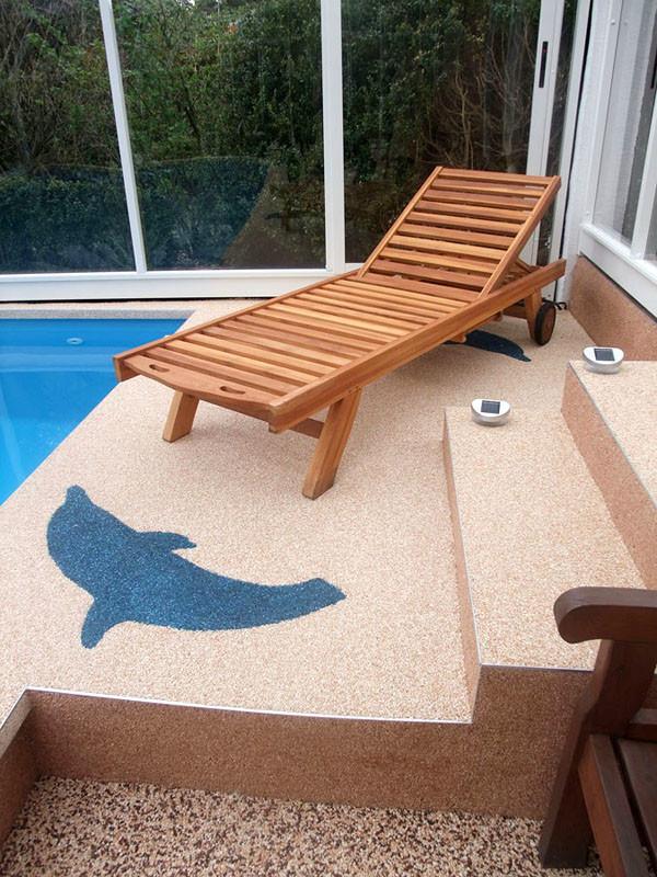 Terrasse Treppe Pool