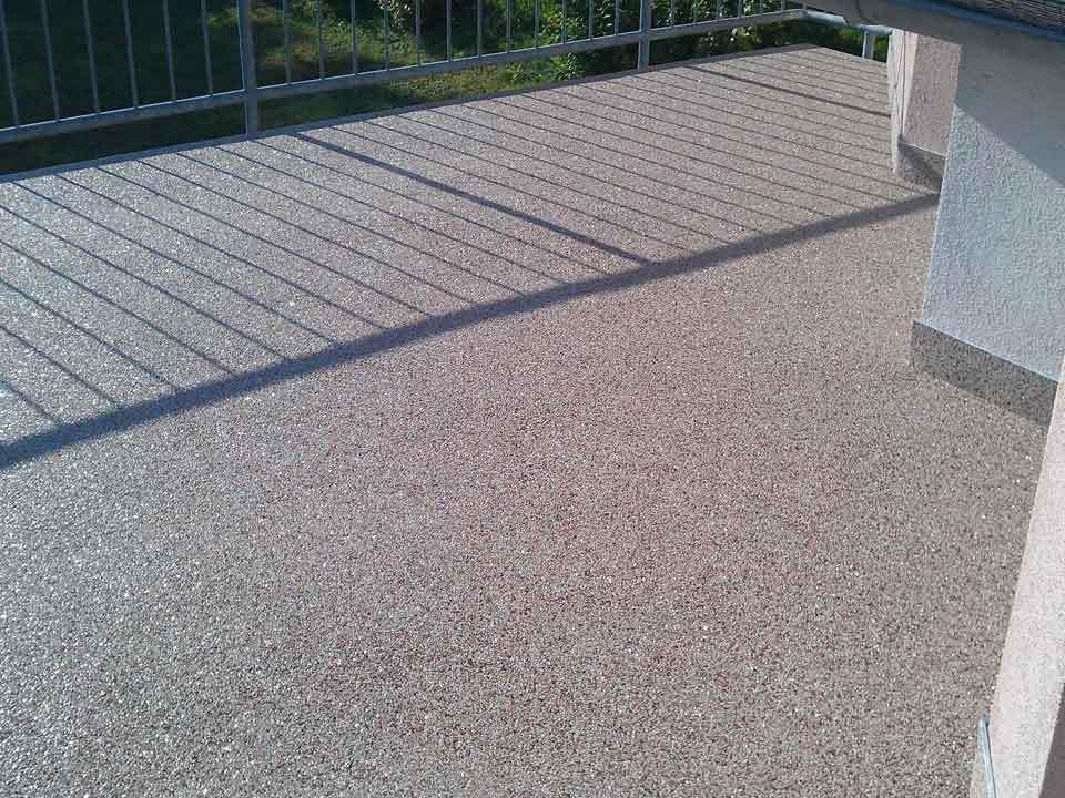 Häufig Balkonsanierung oder Balkonrenovierung: Steinteppich - Abel AH08