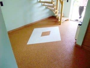Steinteppichboden für Flur und Küche