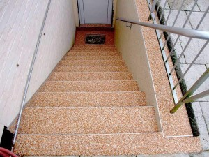 Kellertreppe sanieren ohne Fliesen