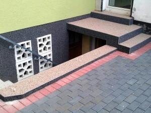 Steinteppich Treppensanierung