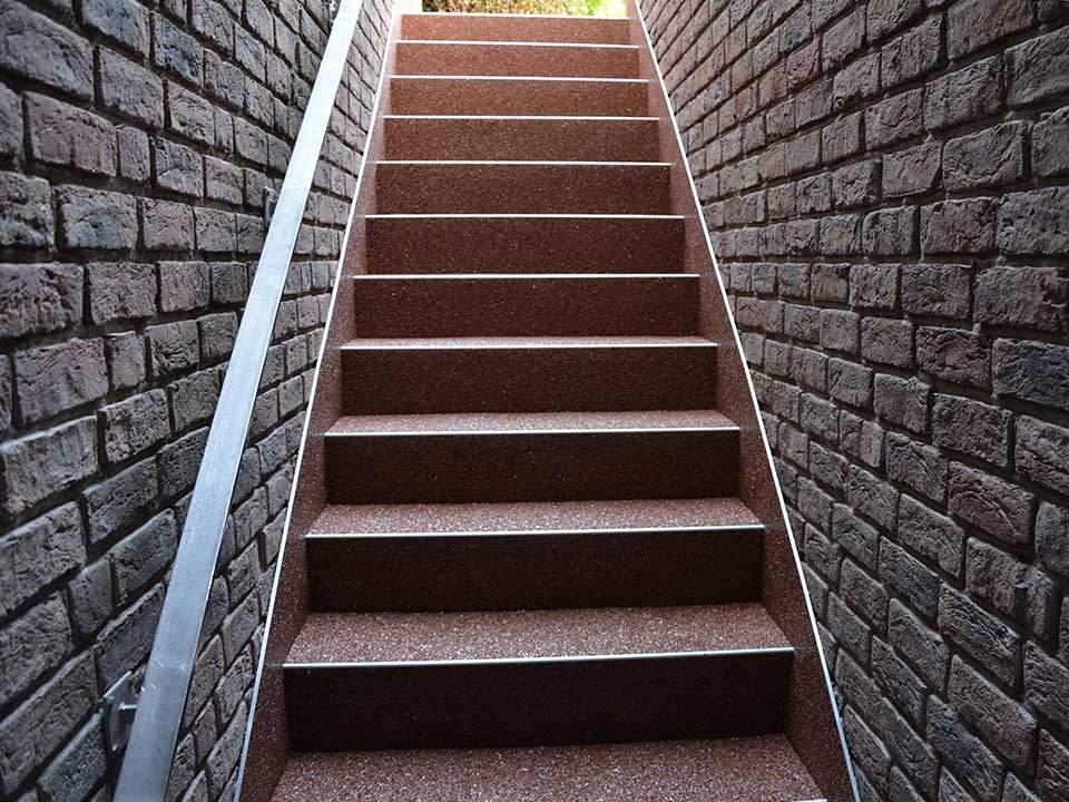 Sehr Kellertreppe sanieren und abdichten | Steinteppich Abel VW05